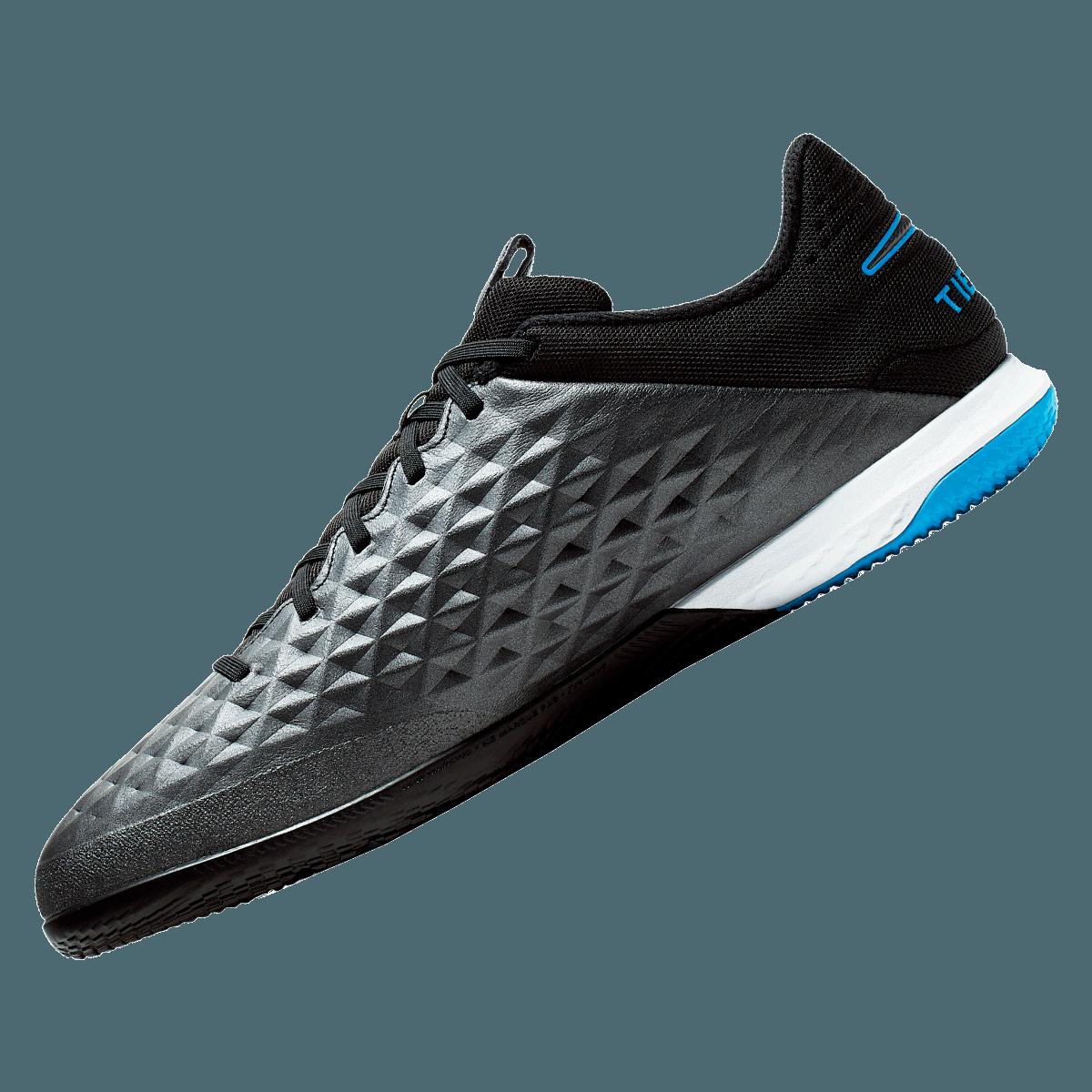 Nike zaalschoenen Tiempo React Legend VIII Pro IC zwartblauw
