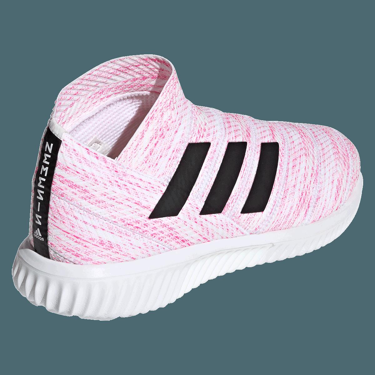 Chaussures adidas Nemeziz 18.1 TR blanc/rose vif - Boutique football