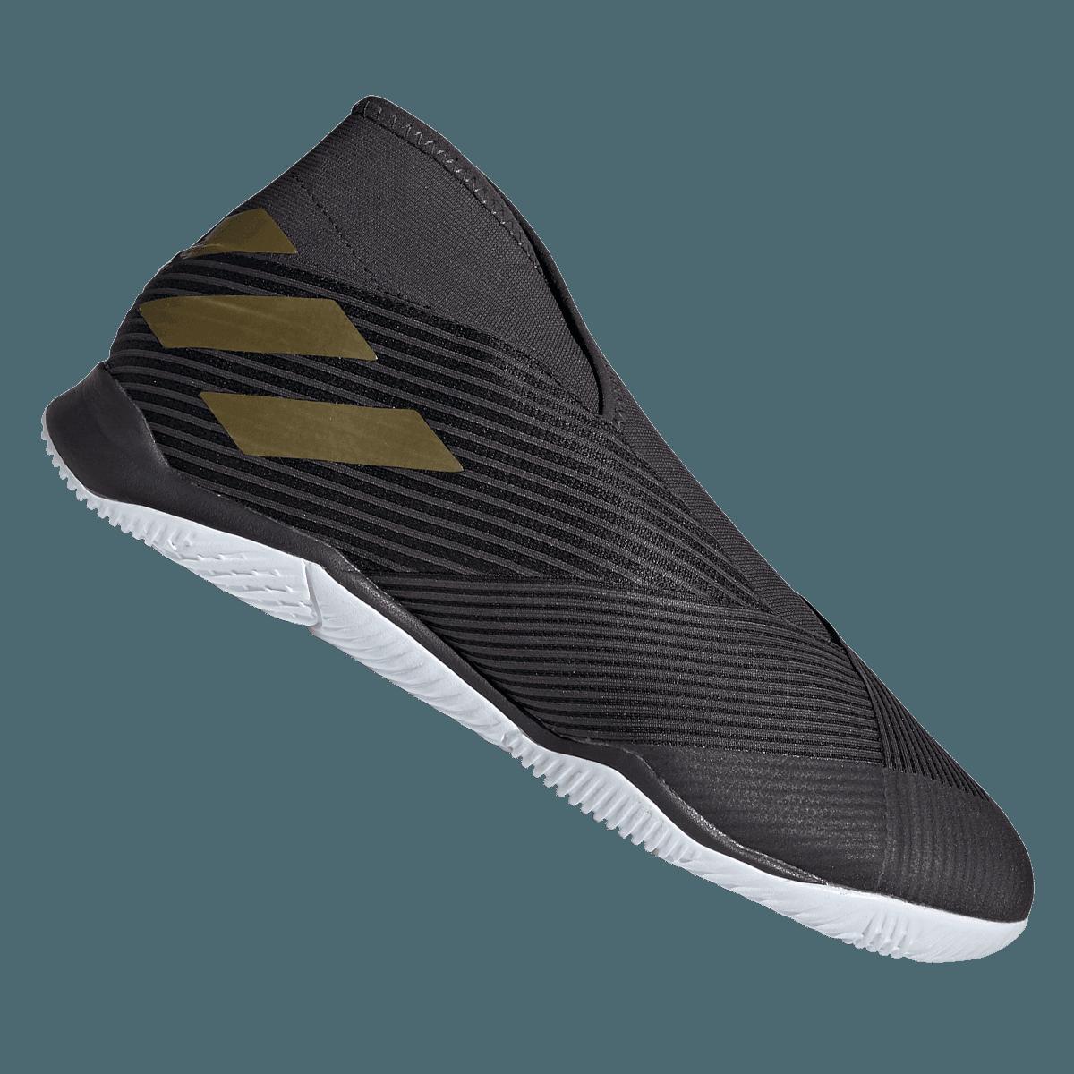 new design release date latest design adidas Hallenschuh Nemeziz 19.3 LL IN schwarz