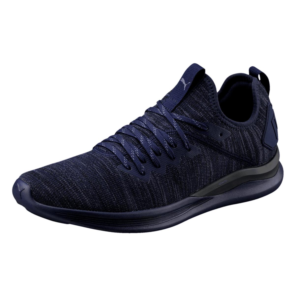 Puma Sneaker Ignite Flash evoKNIT dunkelblaublau