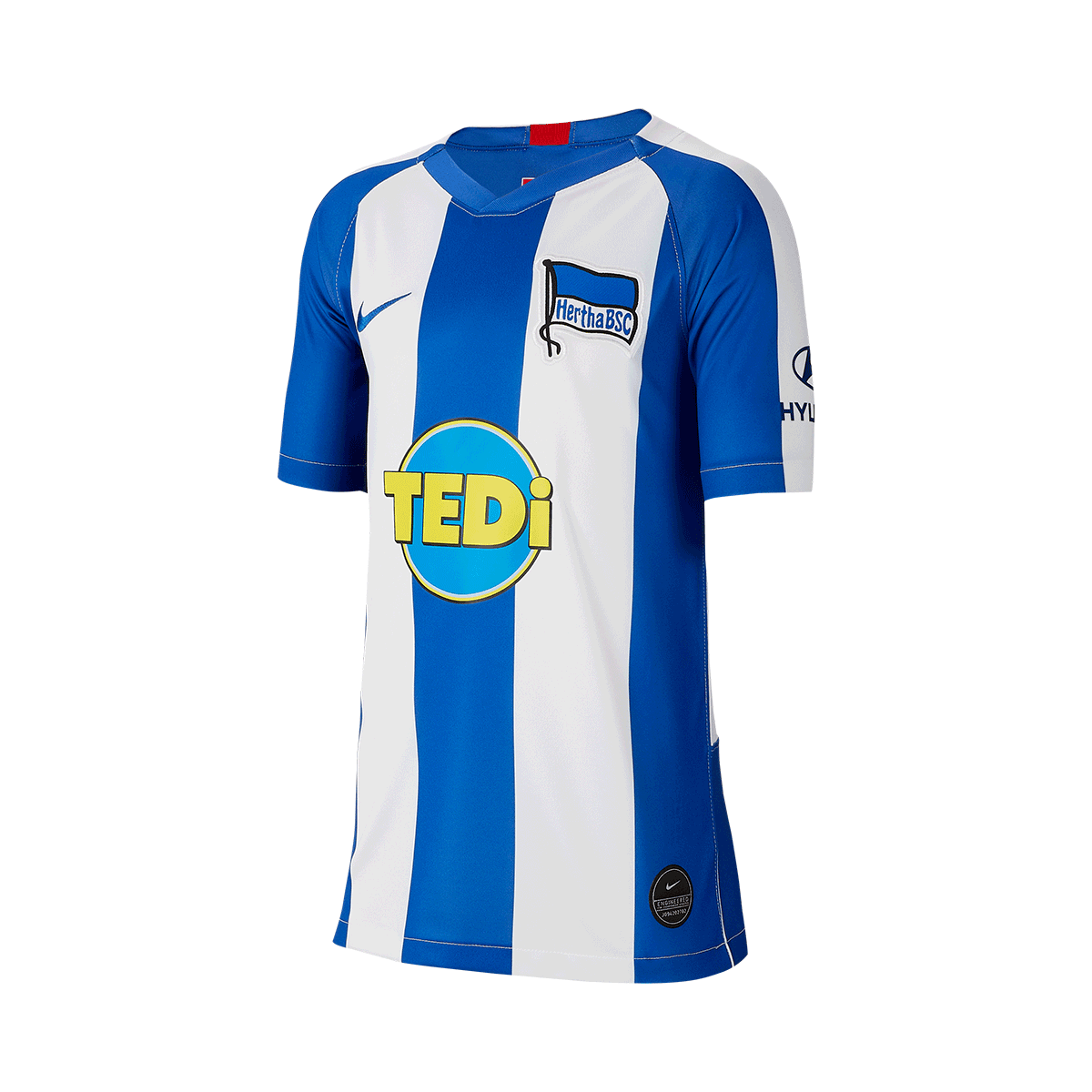 save off f5109 d468a Nike Hertha BSC Kinder Heim Trikot 2019/20 weiß/blau