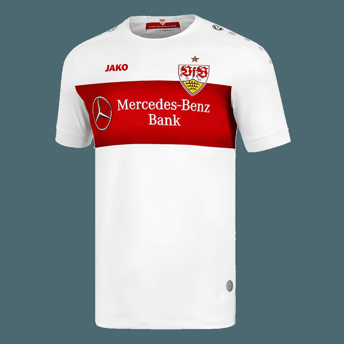 Puma Fußball VfB Stuttgart Herren Training Trikot rot