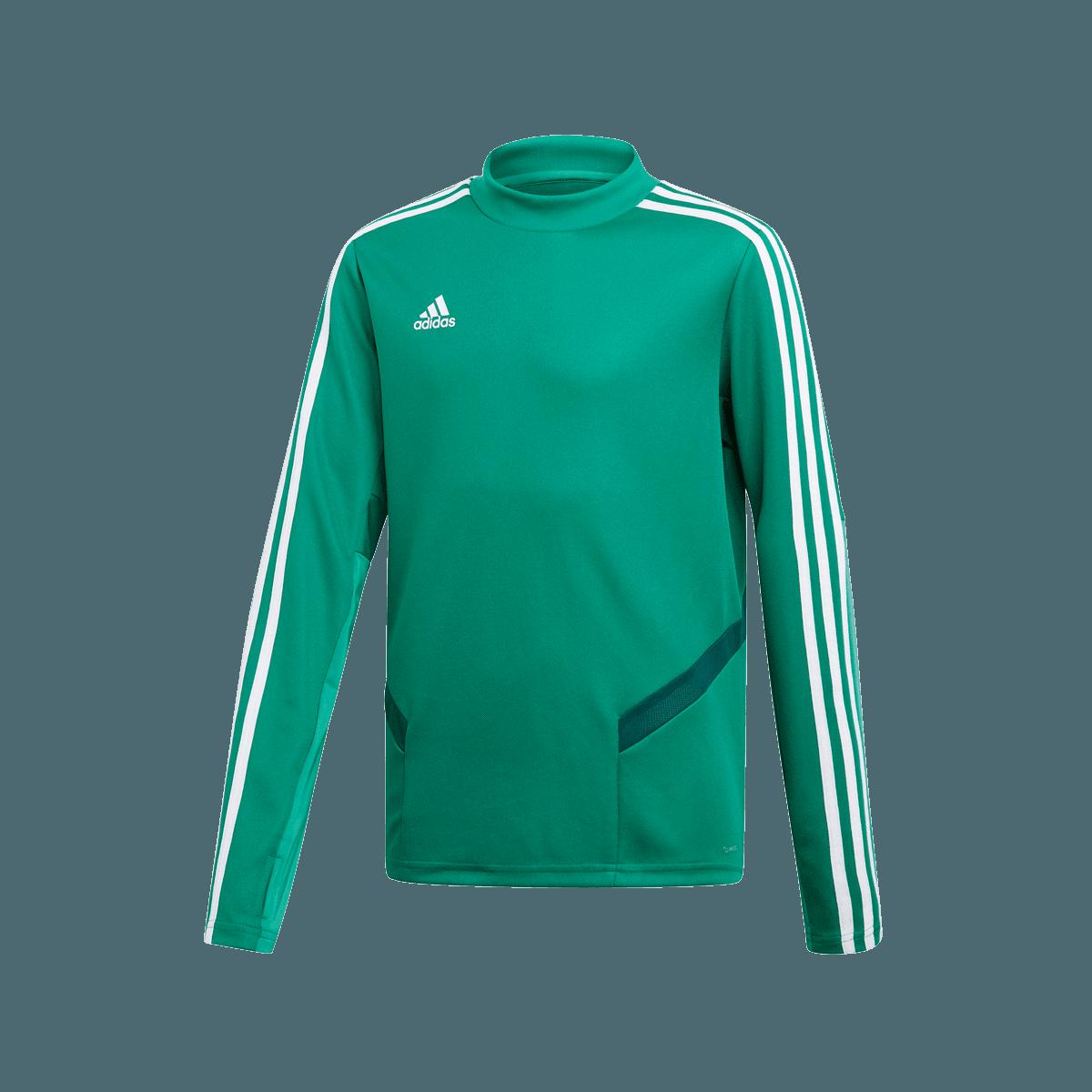 adidas Kinder Sweater Tiro 19 Training Top grünweiß