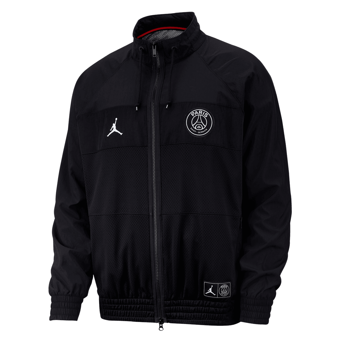 Nike Paris St. Germain Jacke Air Jordan Jacket schwarz