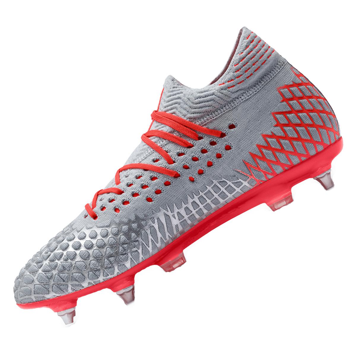 Puma Fußballschuh Future 4.1 Netfit Mx SG grauorange