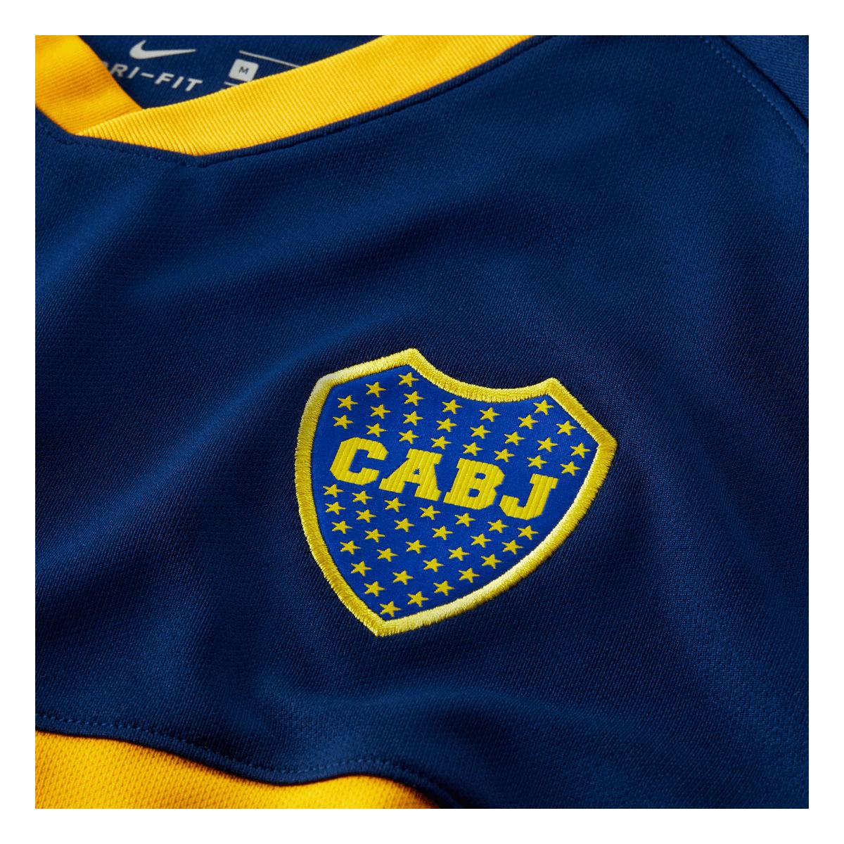 new arrival d4d57 e6c18 Nike Boca Juniors Herren Heim Trikot 2019/20 dunkelblau/gelb