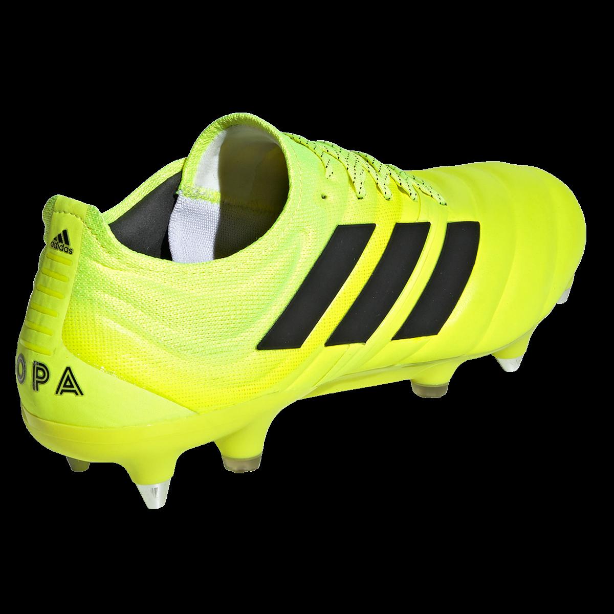 adidas Fußballschuh Copa 19.1 SG gelb fluoschwarz