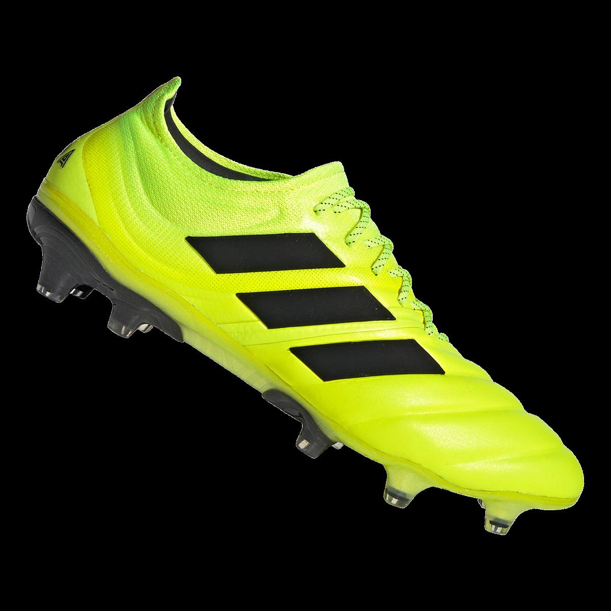 adidas Fußballschuh Copa 20.1 FG silbergelb fluo Fussball