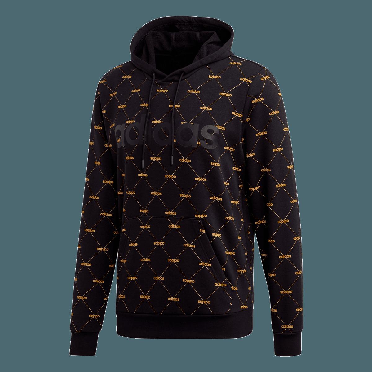 adidas Core M Favourites Hoody kapucnis pulóver feketemustár