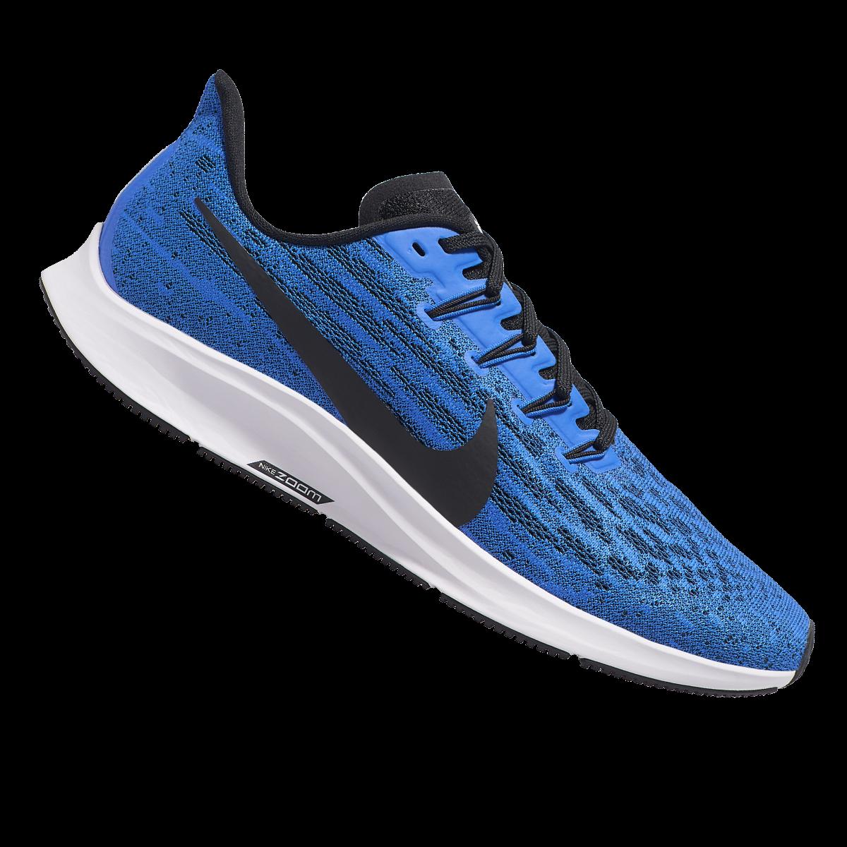 Nike hardloopschoenen Air Zoom Pegasus 36 blauwzwart