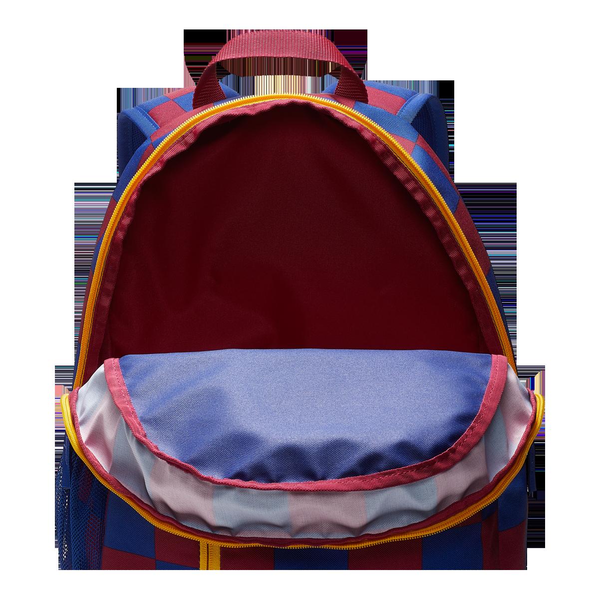 Nike FC Barcelona Kinder Rucksack Stadium Backpack blaurot