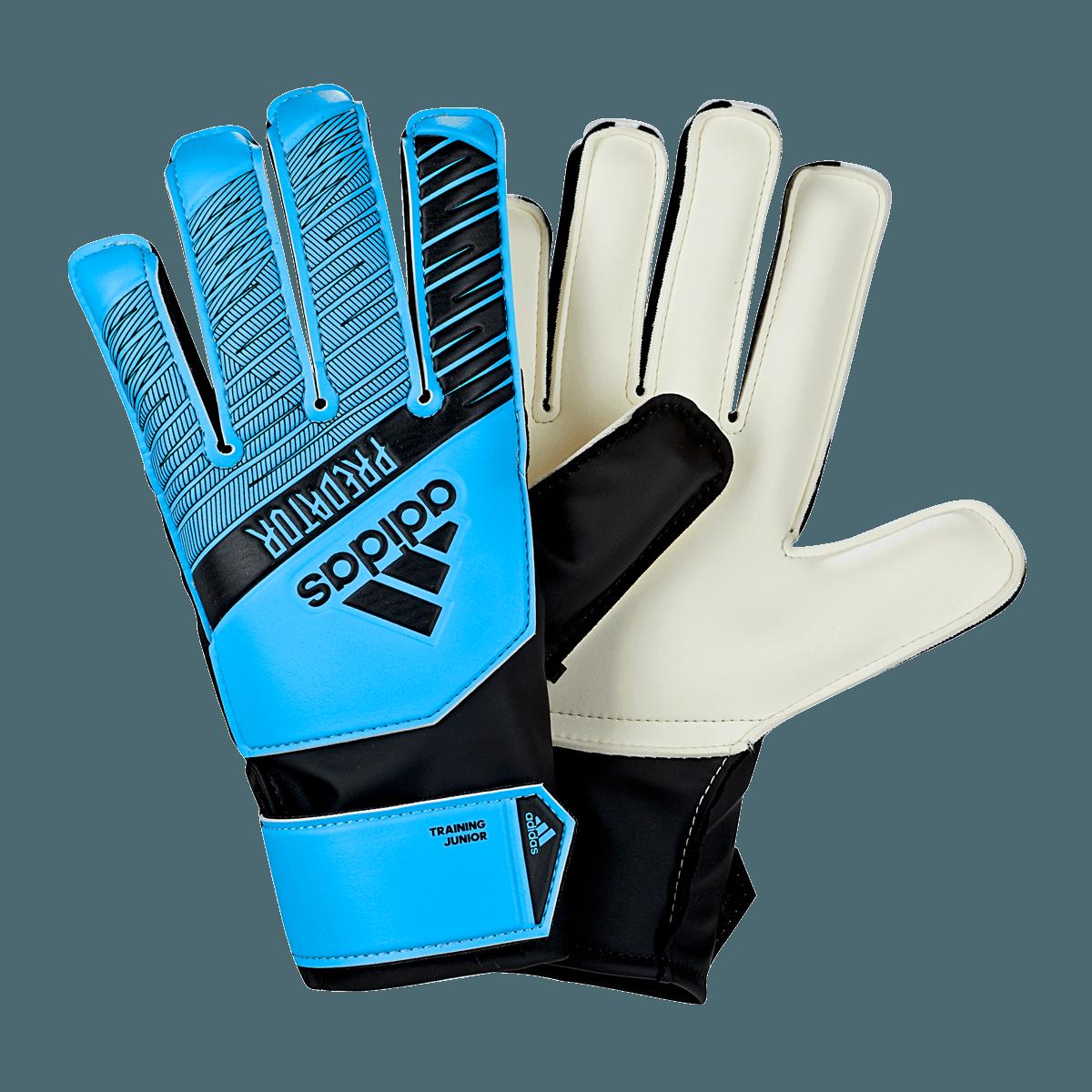 adidas kinderen keepershandschoenen Predator Training J lichtblauwzwart Voetbal shop