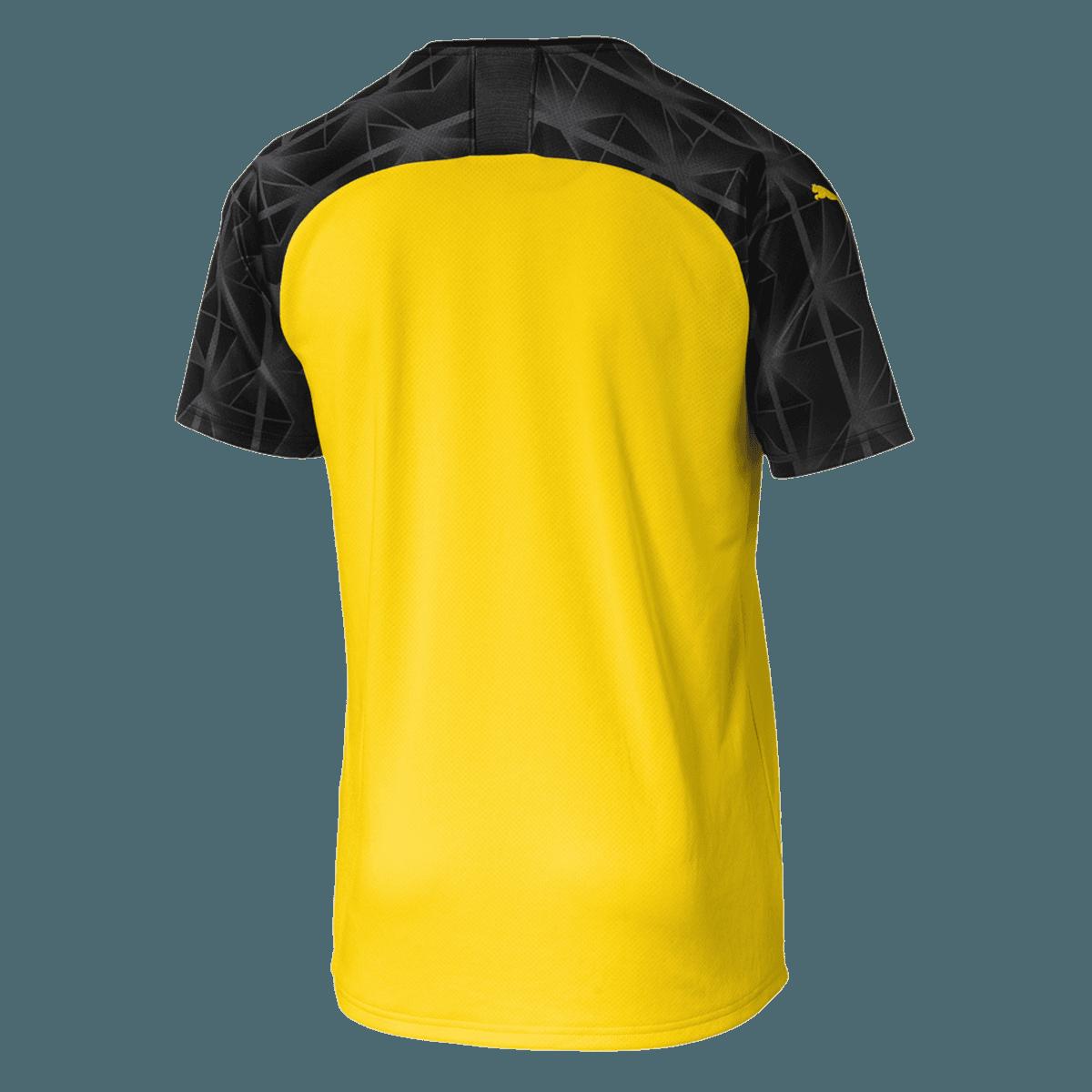 Puma BVB Herren Cup Trikot 201920 gelbschwarz Fussball Shop