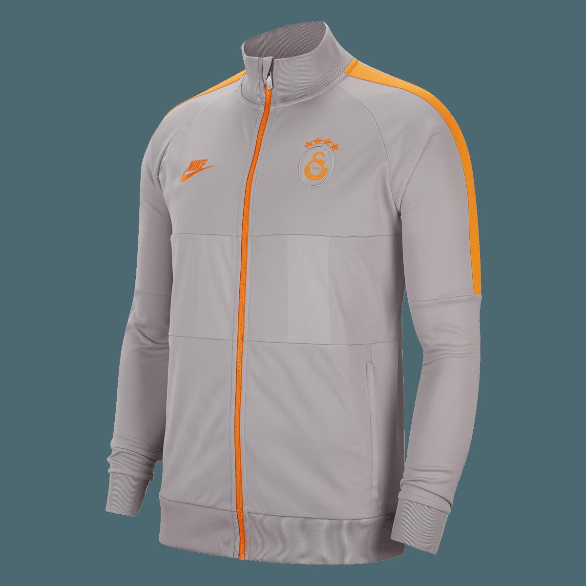 Nike Galatasaray Istanbul Fanjacke I96 CL Jacket hellgrauorange