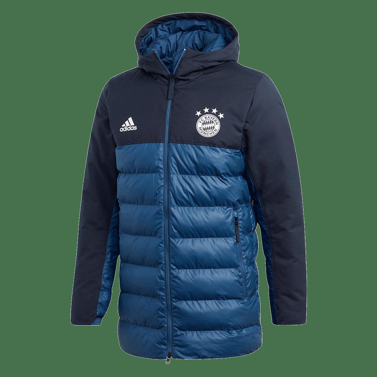 adidas FC Bayern München Kapuzenjacke S Special Padded Jacket dunkelblaublau