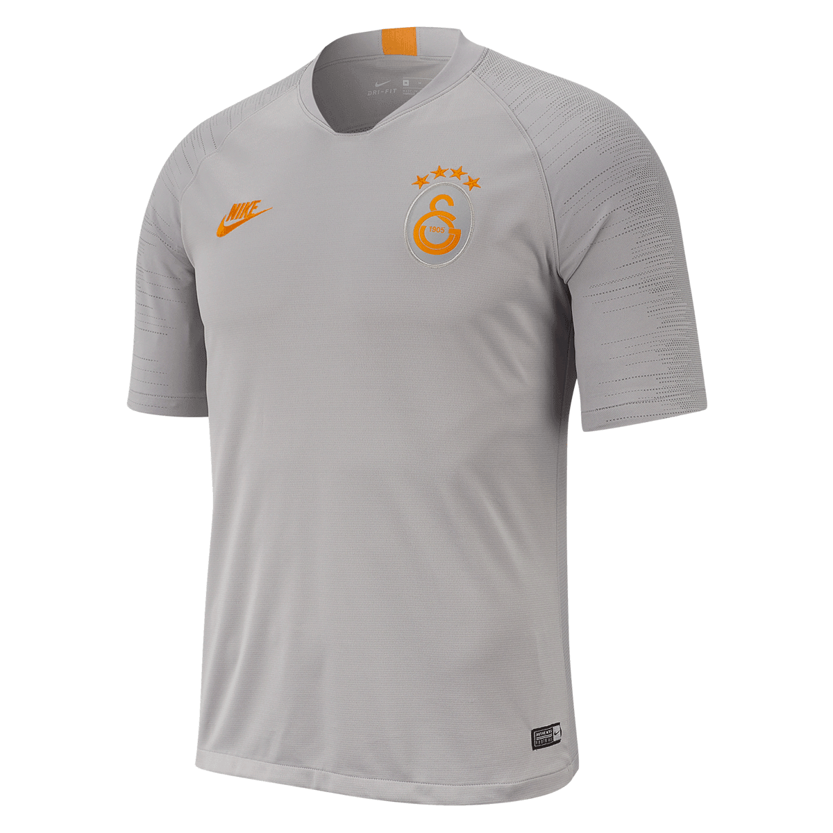 Nike Galatasaray Istanbul Trainingsshirt Breathe Strike Top grauorange