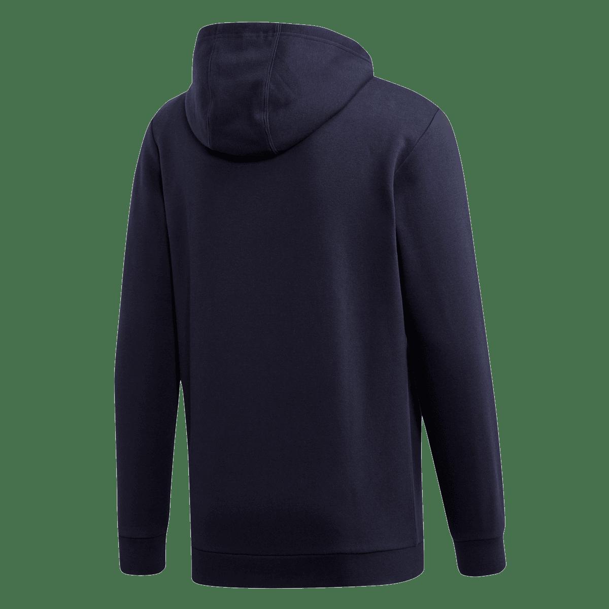 adidas capuchonjack Essential Camo Linear FZ Jacket donkerblauwblauw