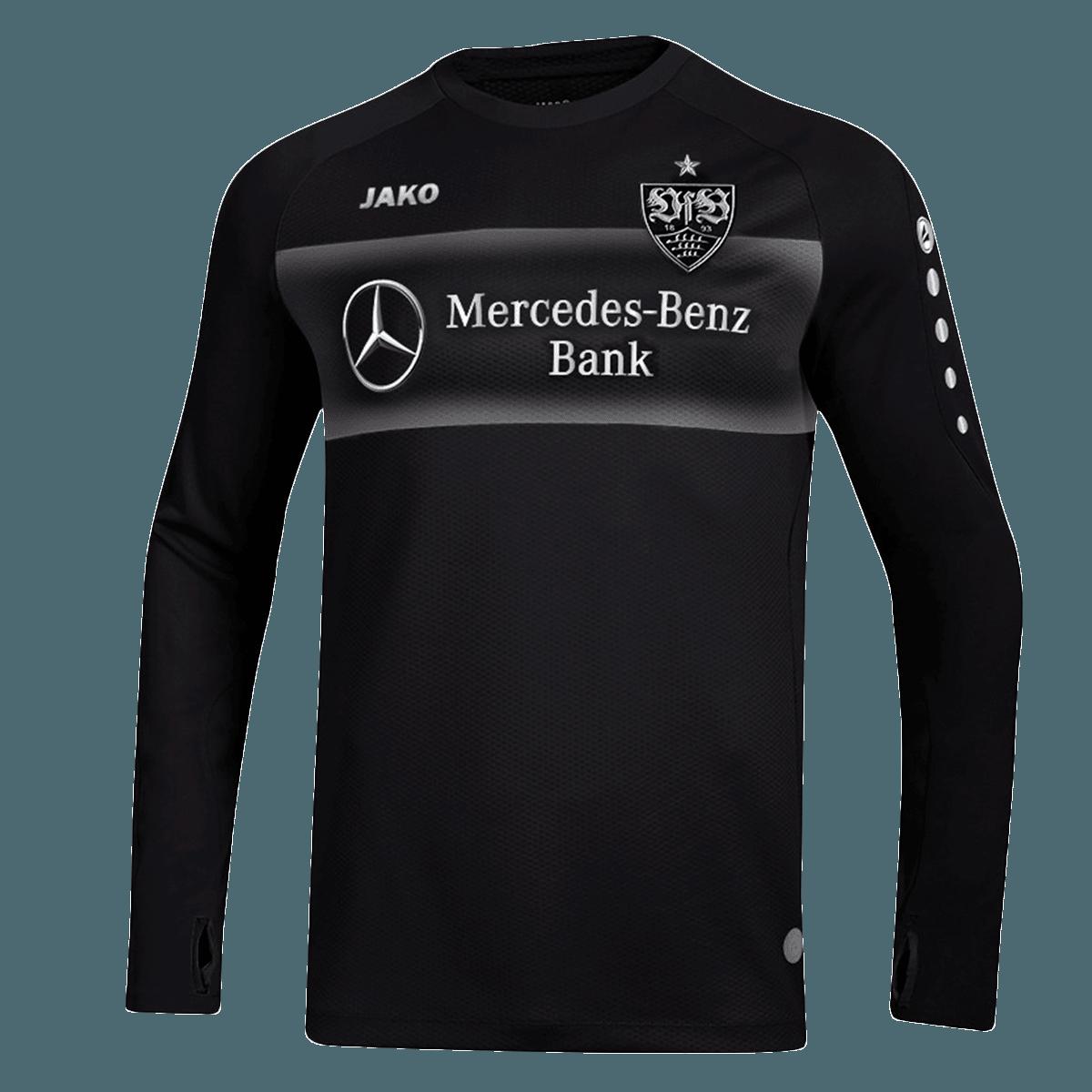 Jako VfB Stuttgart Trainingspullover Teamline Sweat schwarzweiß