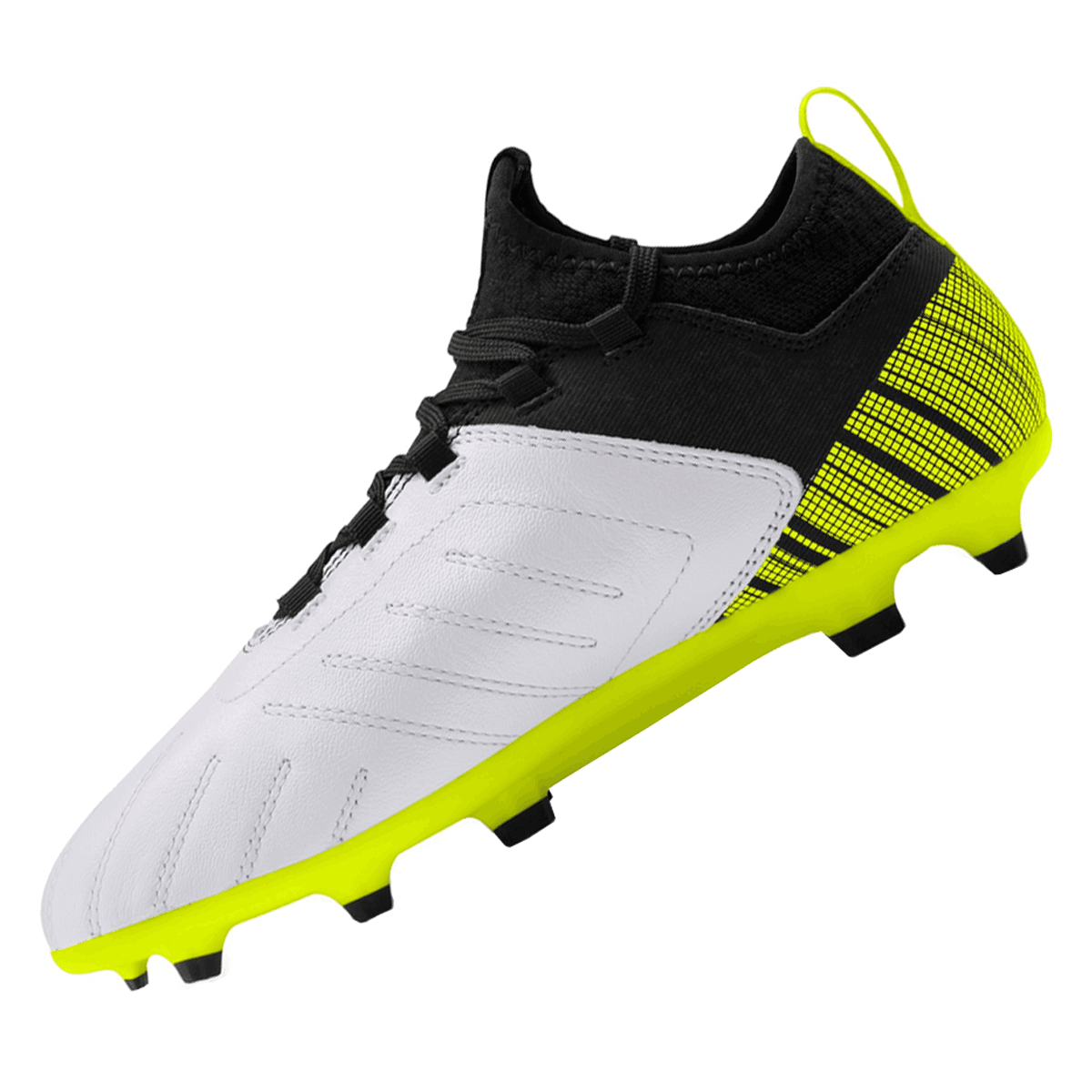 Puma kinderen voetbalschoenen One 5.3 FGAG Jr. geel fluozwart