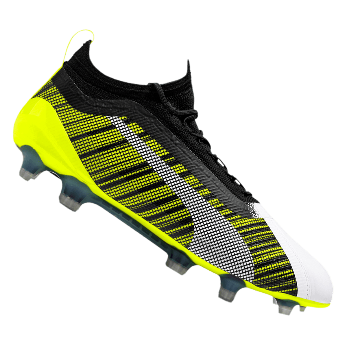 Puma Fußballschuh One 5.1 FGAG gelb fluoschwarz