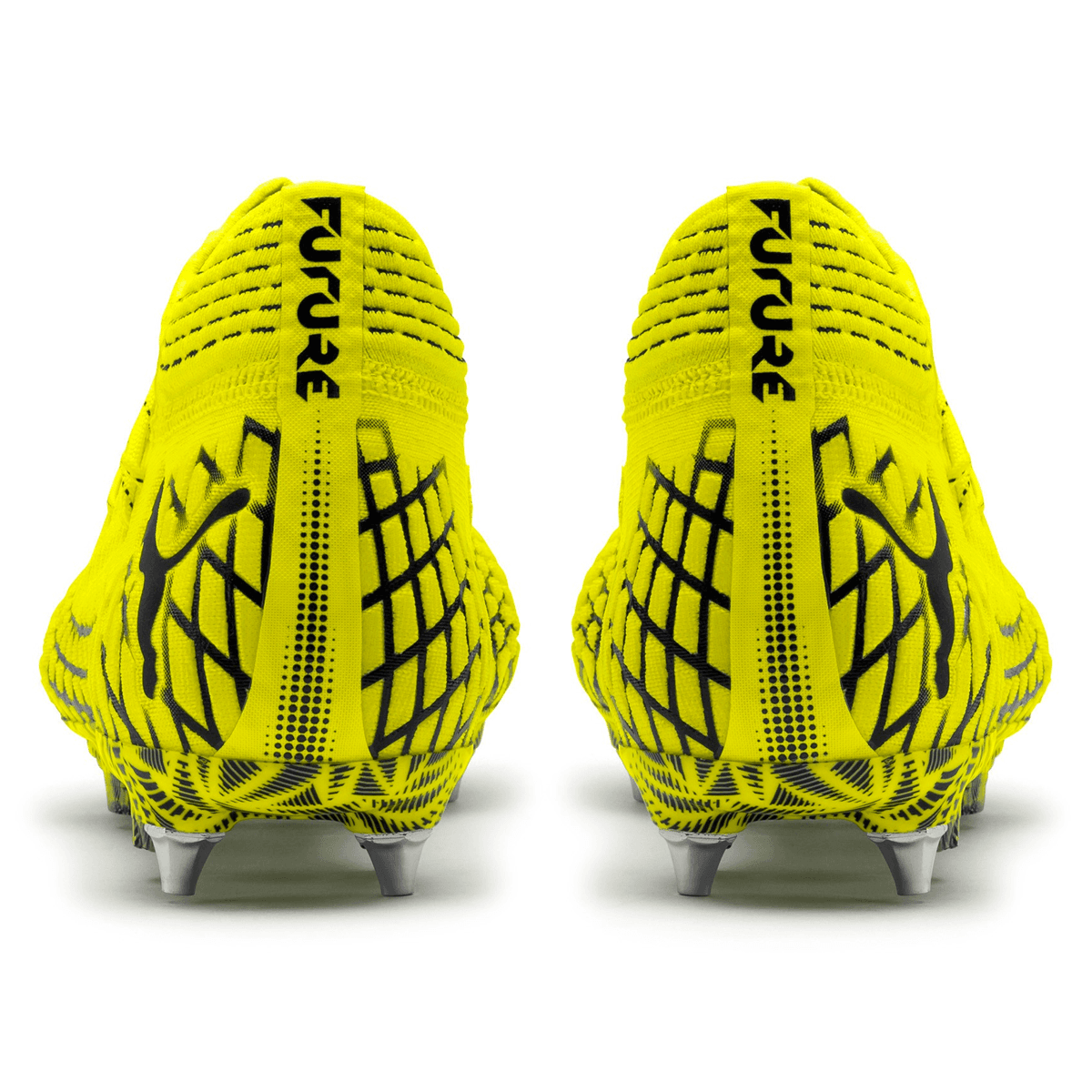 Puma Fußballschuh Future 4.1 Netfit Mx SG gelb fluoschwarz