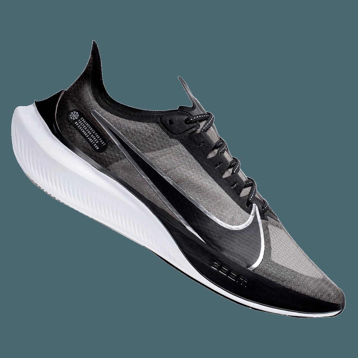 Nike Laufschuh Zoom Gravity schwarzsilber