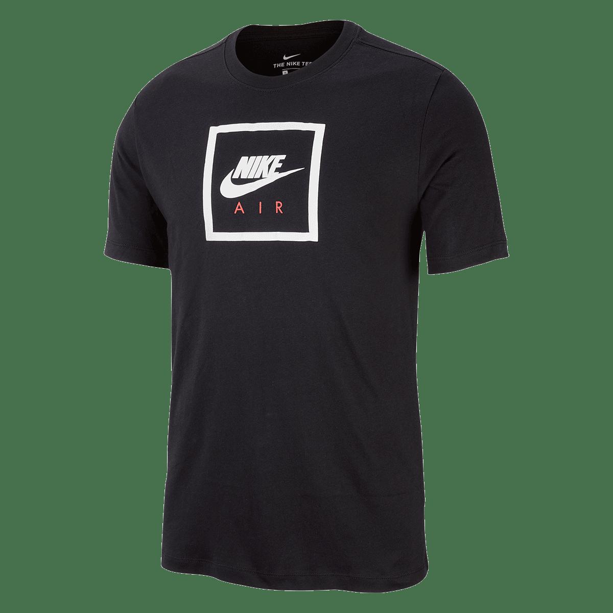 T shirt Nike Sportswear Air Tee II noirblanc Boutique football