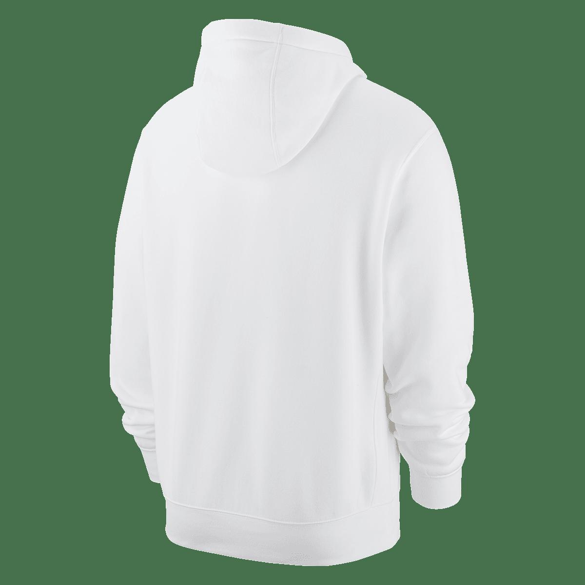 Nike Kapuzenpullover Sportswear Graphic Club BB GX Hoody weißschwarz