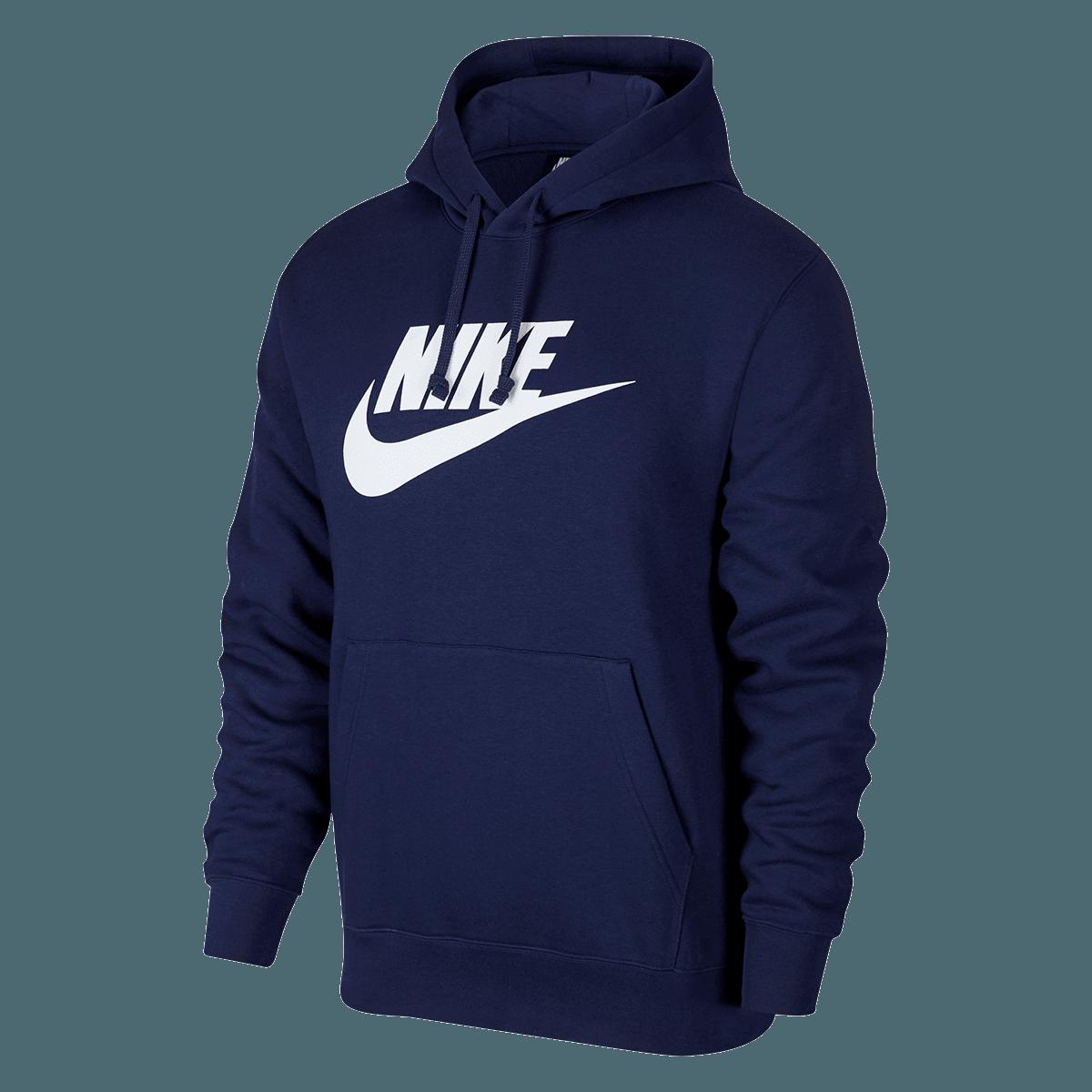 Nike Kapuzenpullover Sportswear Graphic Club BB GX Hoody dunkelblauweiß
