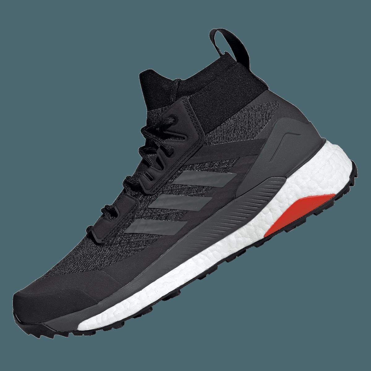 adidas Schuh Terrex Free Hiker GTX dunkelrotschwarz