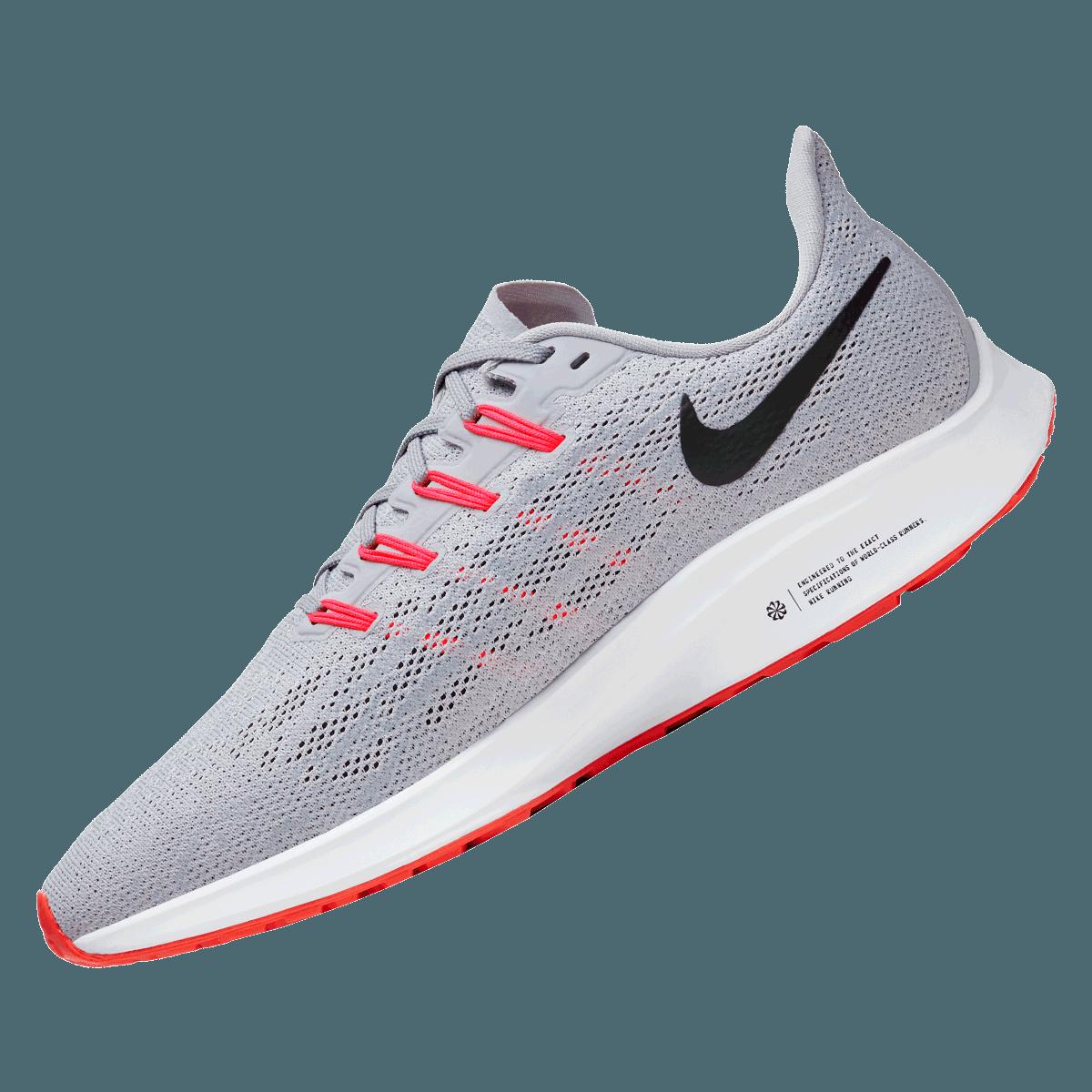 Nike Laufschuh Air Zoom Pegasus 36 hellgraurot