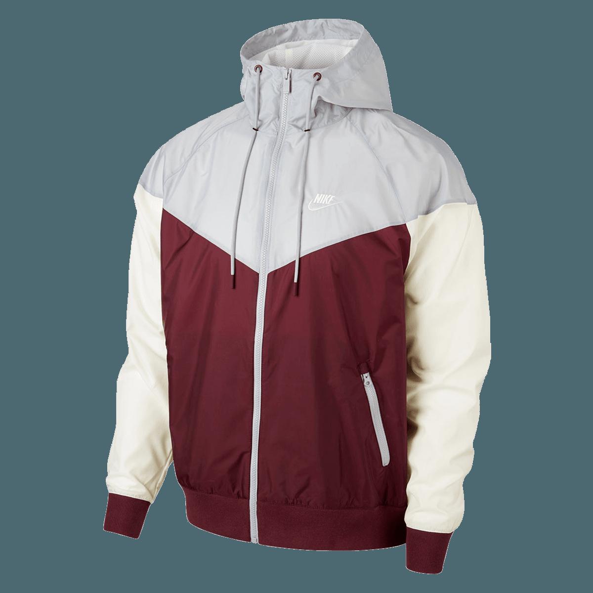 Nike Kapuzenjacke Sportswear Windrunner Jacket dunkelrotgrau