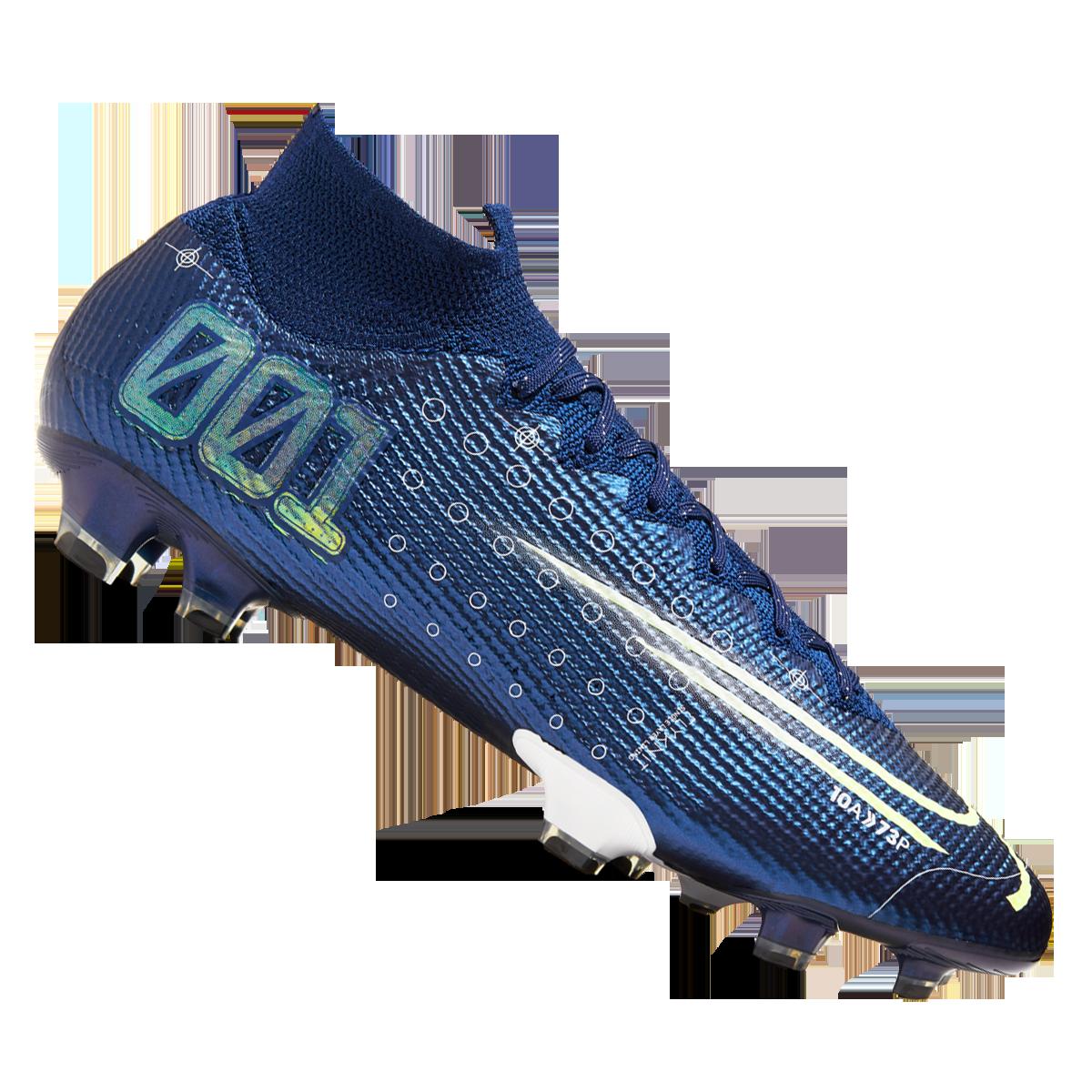 professionelle Website Brauch 100% echt Nike Fußballschuh Mercurial Superfly VII Elite MDS FG dunkelblau ...