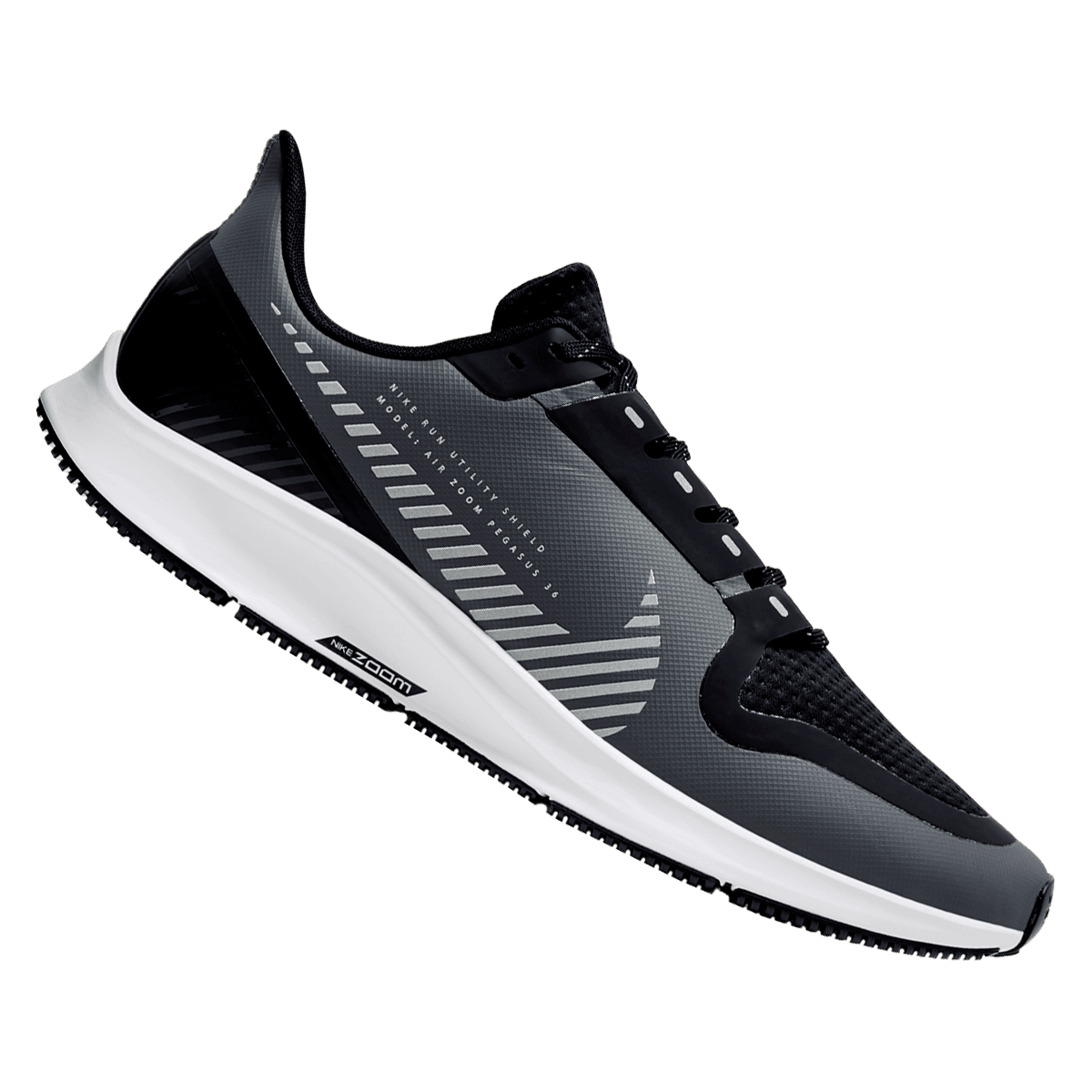 Nike Laufschuh Air Zoom Pegasus 36 Shield grauschwarz