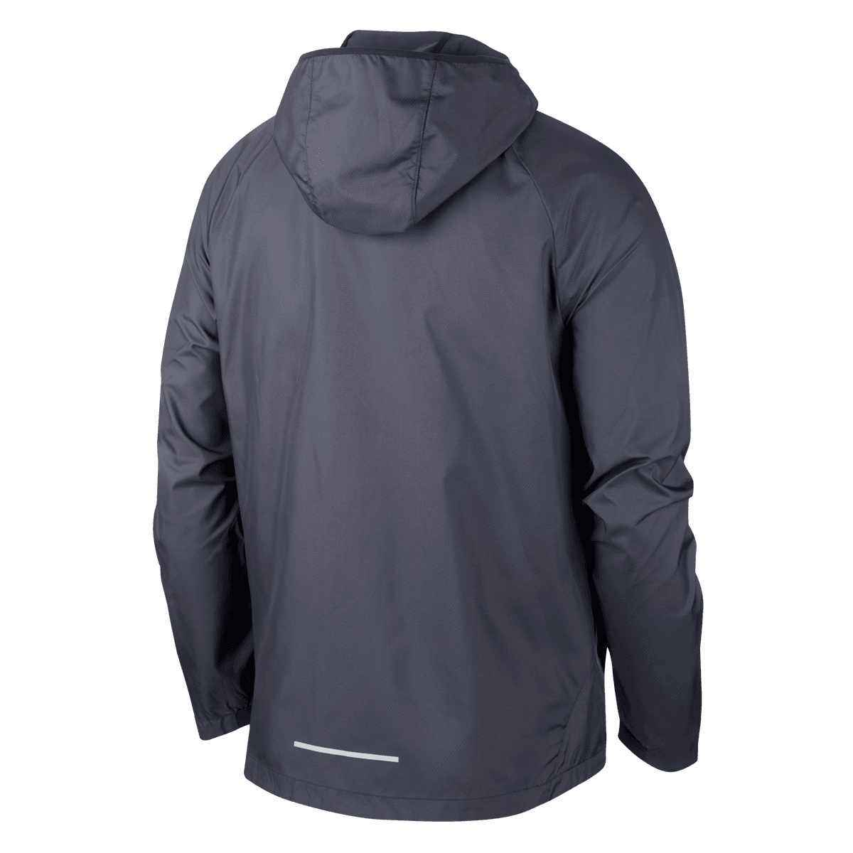 Nike Laufjacke Essential Flash PO Air Jacket schwarzsilber
