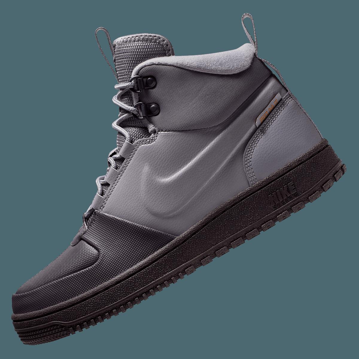 Nike Winterschuh Path grauschwarz