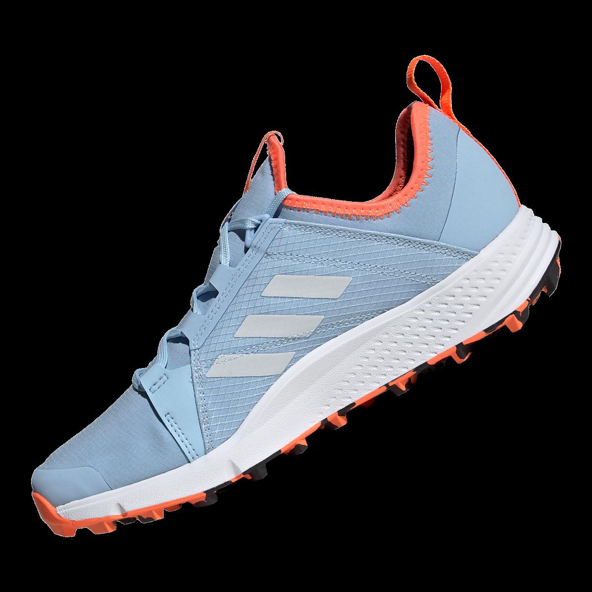adidas Damen Schuh Terrex Agravic Speed GTX W hellblauorange
