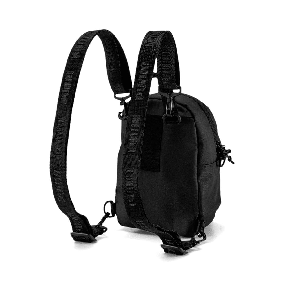 Puma Damen Rucksack Core Minime Backpack schwarzweiß