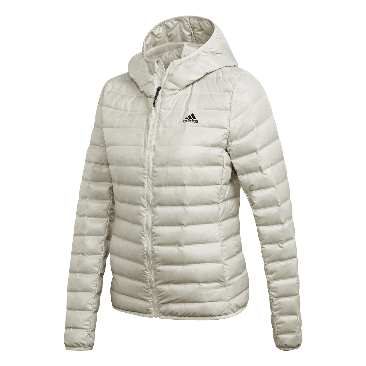 adidas Damen Daunenjacke Varilite Hooded Jacket weiß