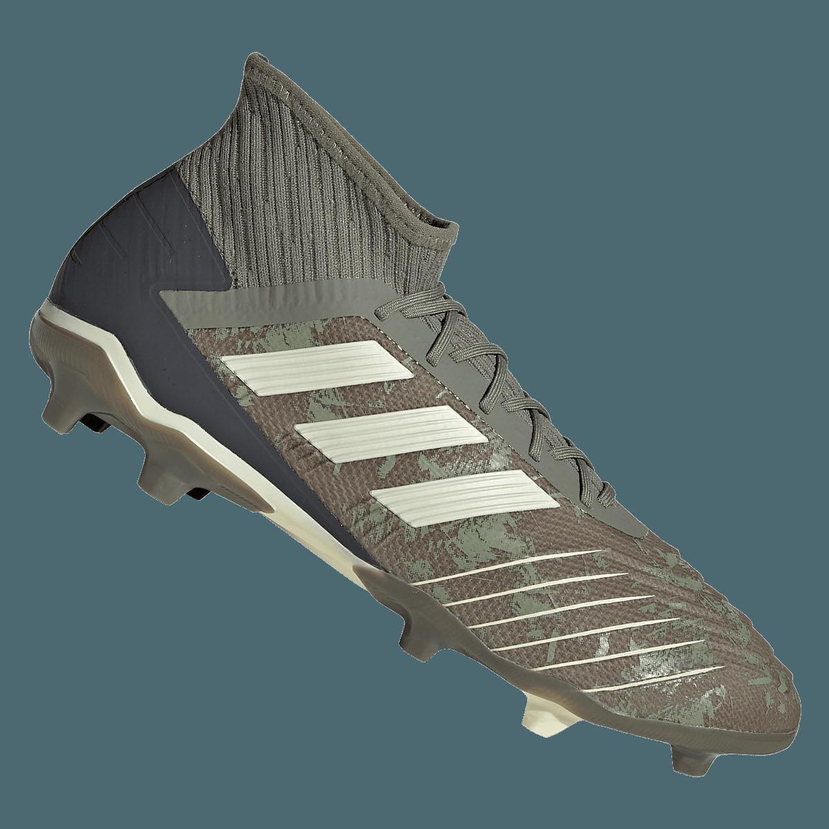adidas voetbalschoenen Predator 19.2 FG olijfgroenbeige Voetbal shop