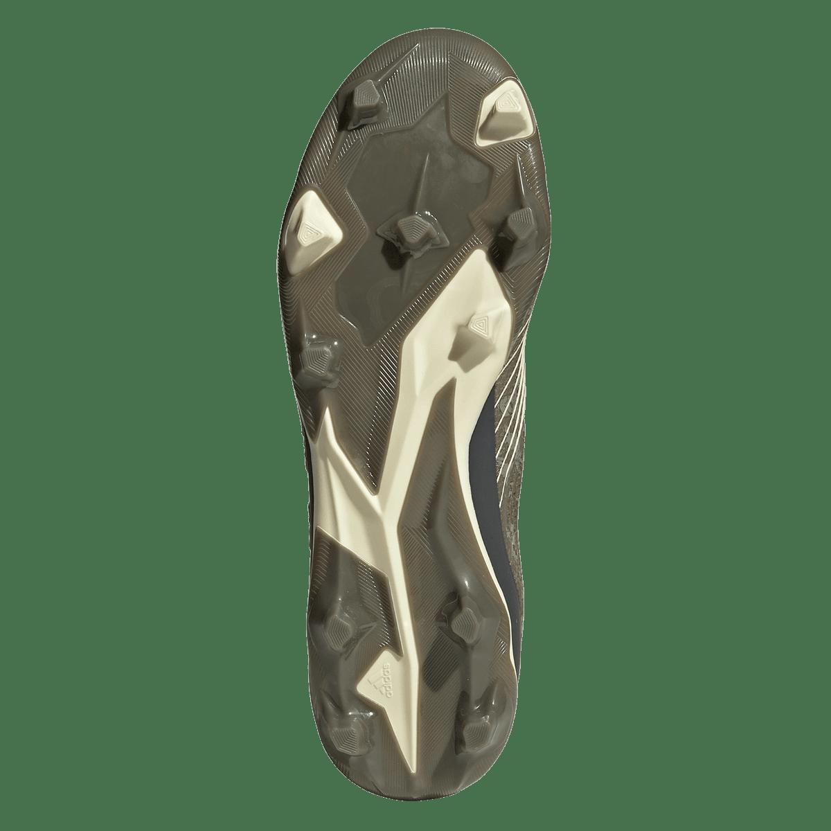 adidas voetbalschoenen Predator 19.2 FG olijfgroenbeige