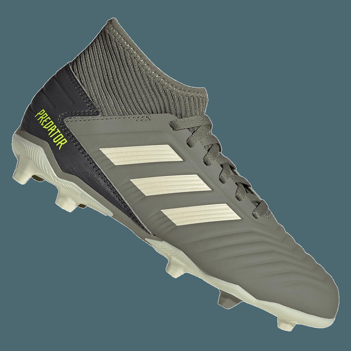 adidas kinderen voetbalschoenen Predator 19.3 FG J olijfgroenbeige Voetbal shop