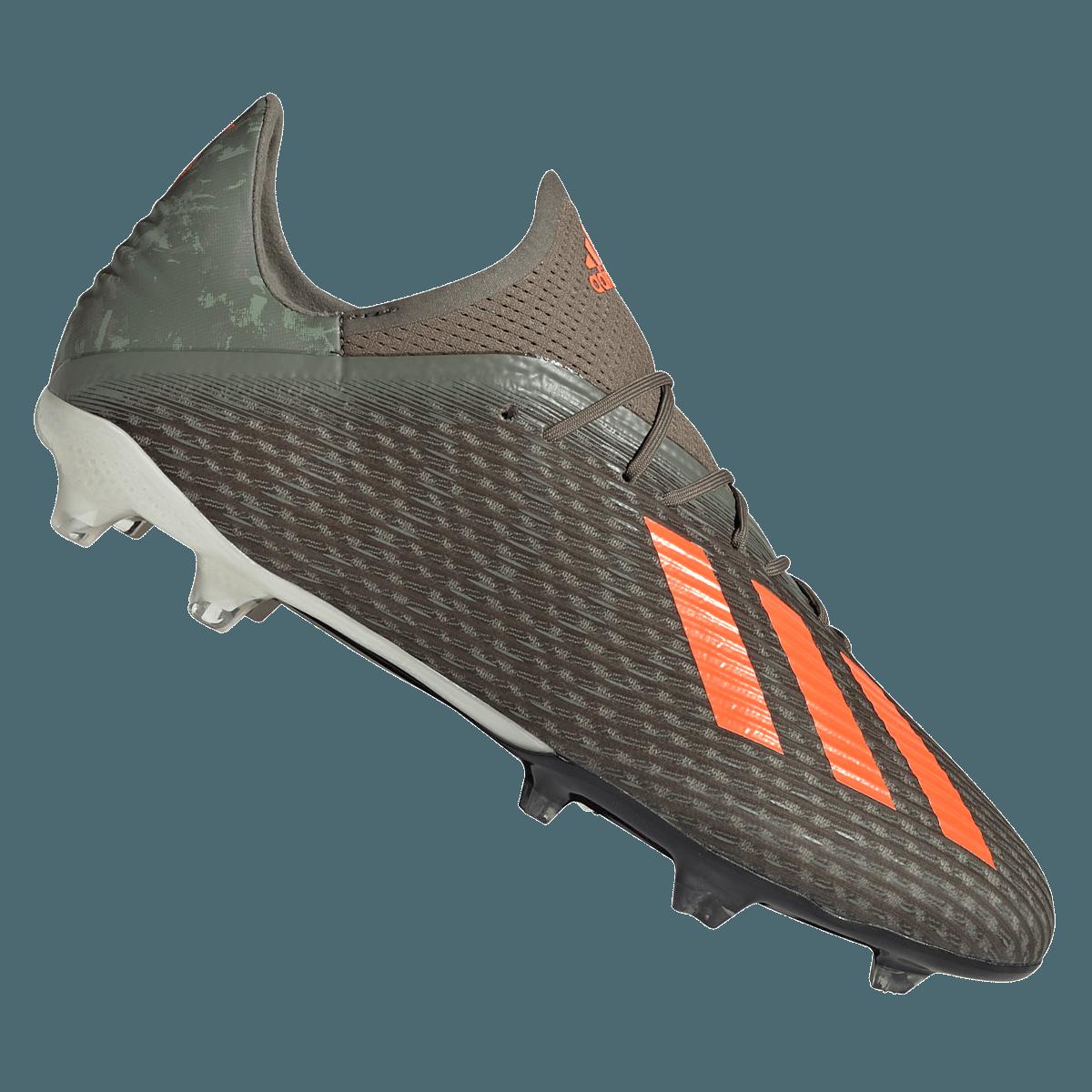 adidas voetbalschoenen X 19.2 FG olijfgroenoranje Voetbal shop