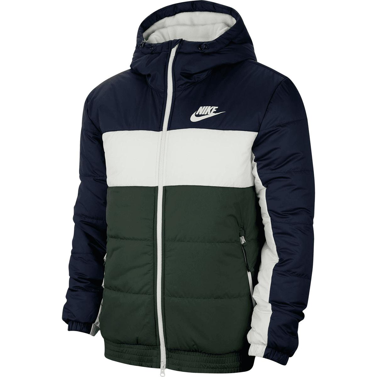 Nike Sportswear Steppjacke dunkelblaugrün