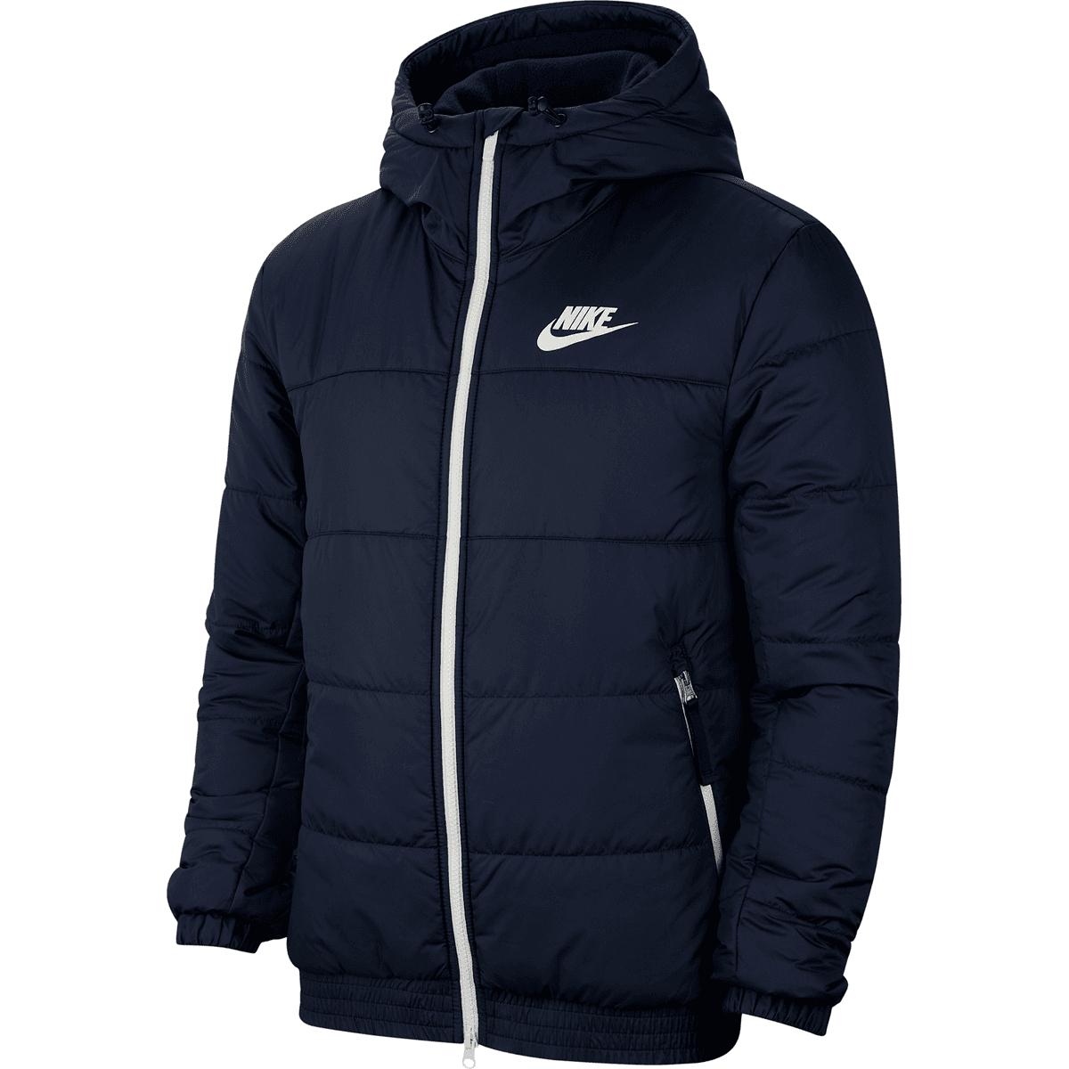 Nike Sportswear Steppjacke dunkelblauweiß