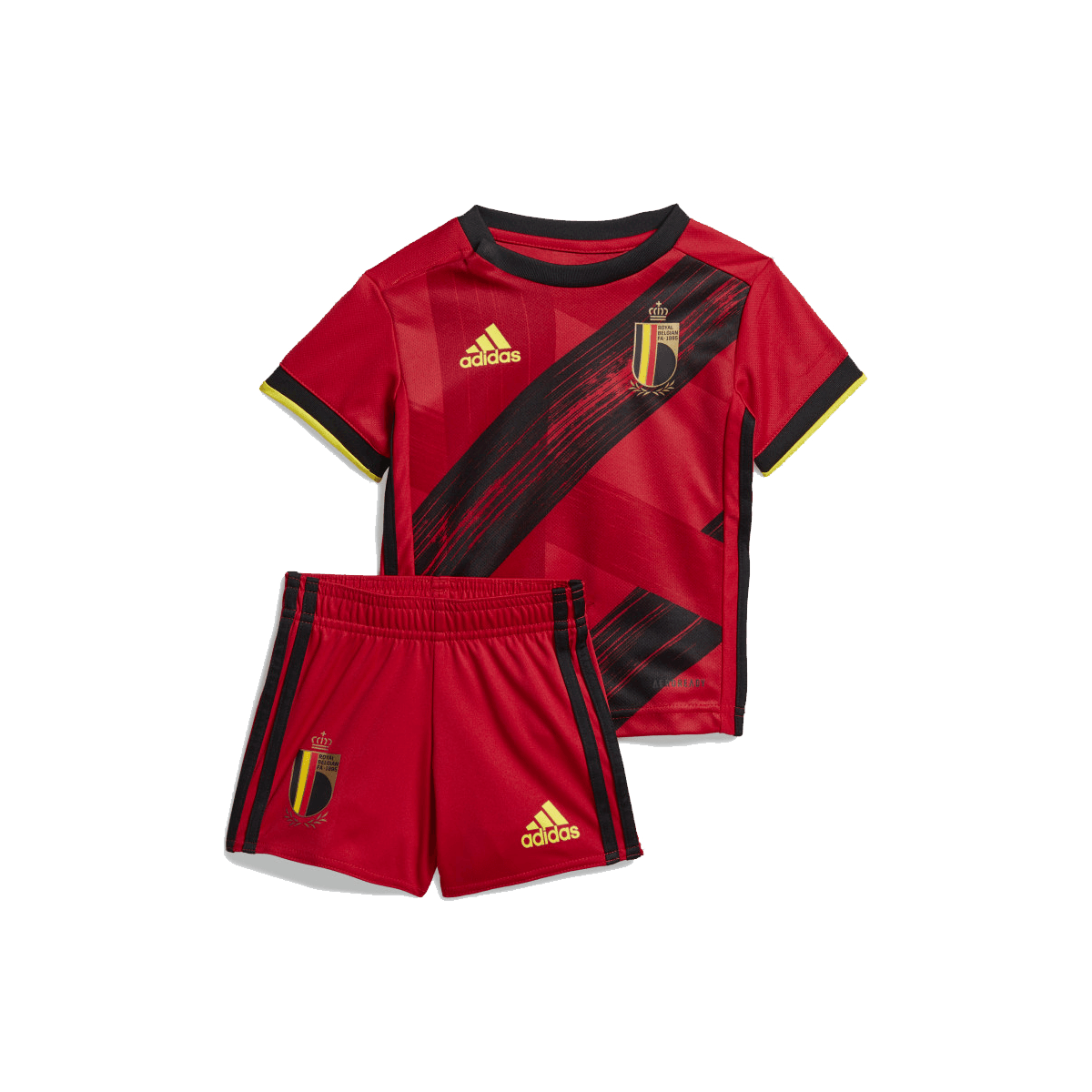 adidas Belgien Kinder Trainingsshirt rot Fussball Shop