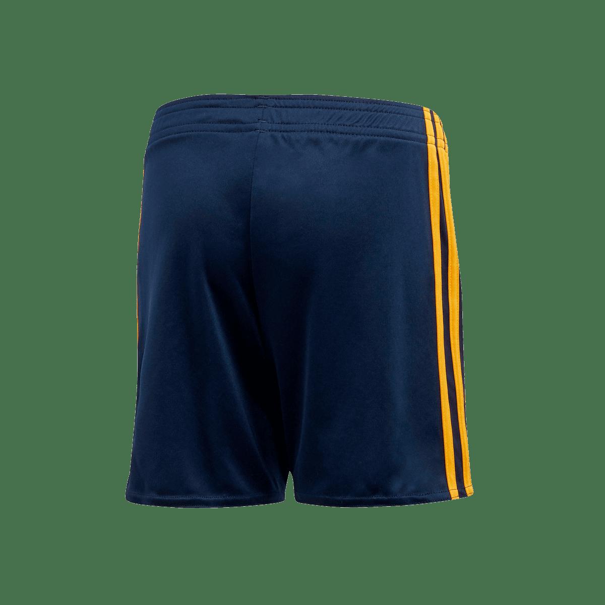 adidas Spanien Herren Heim Short EM 2020 dunkelblaugelb
