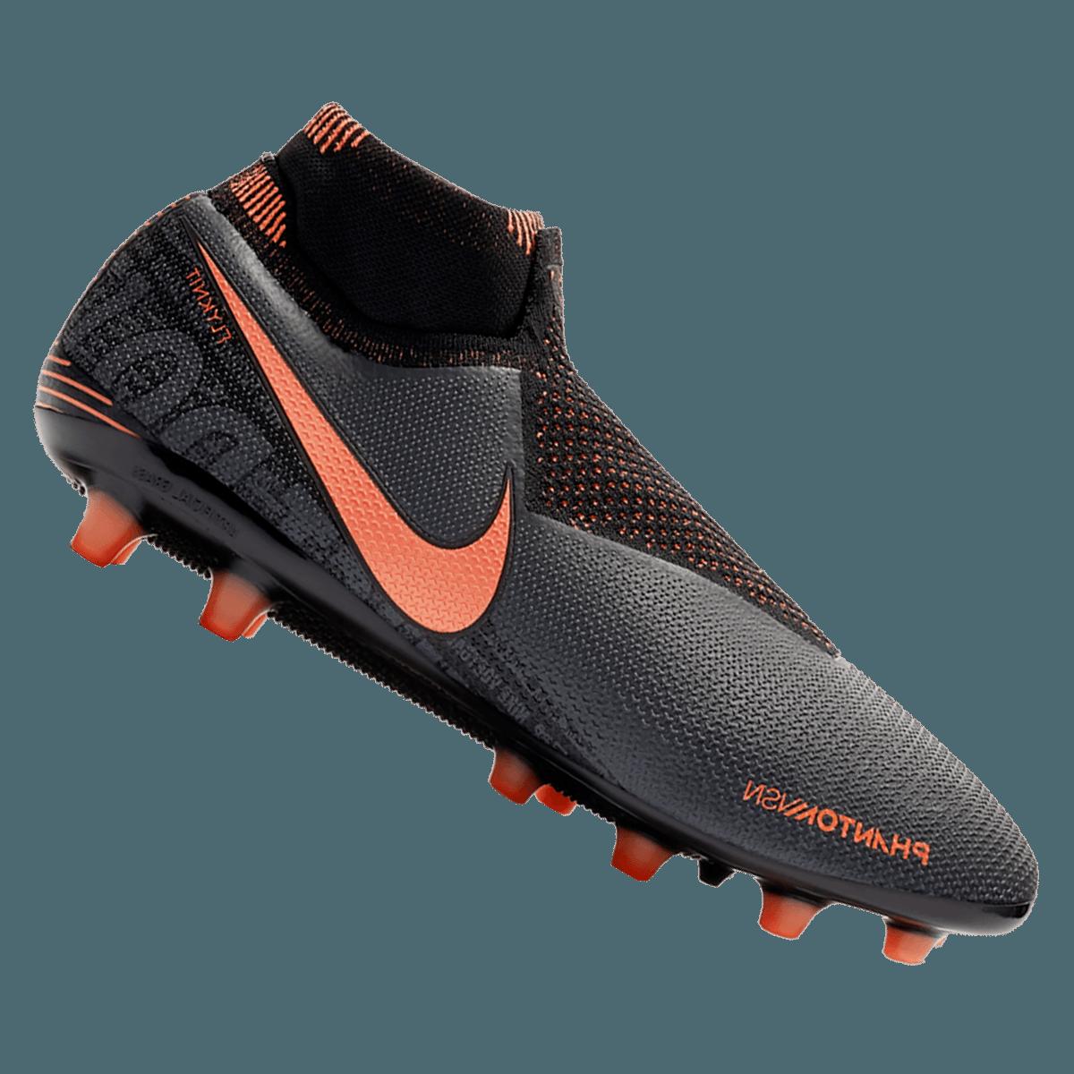 Nike Fußballschuh Phantom Vision Elite DynamicFit AG Pro Kunstrasen dunkelgrauorange