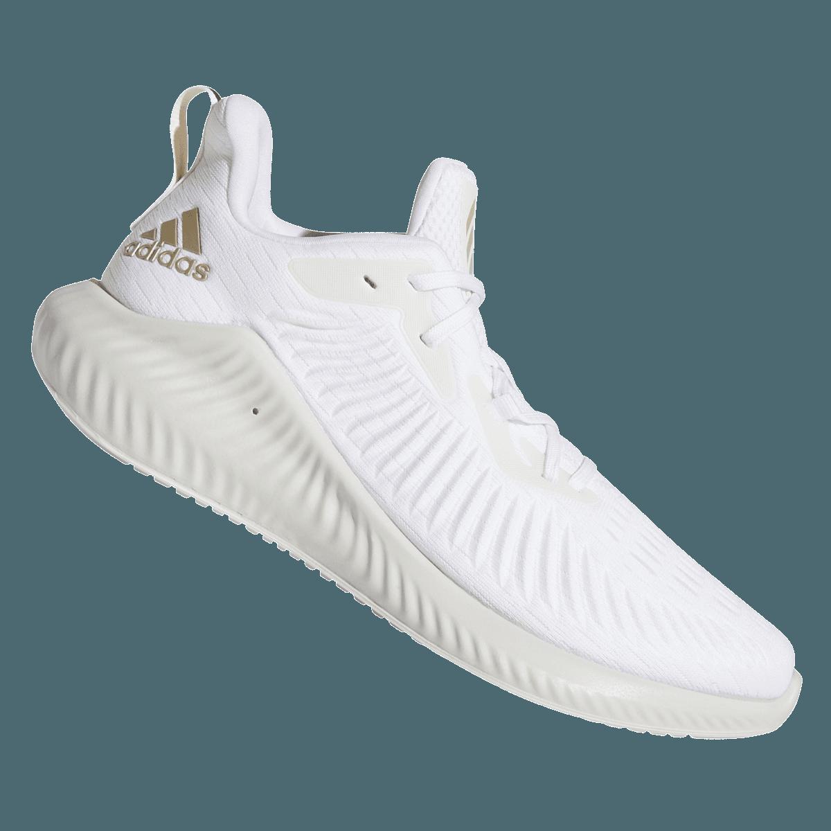 adidas Schuh alphabounce+ weißsilber