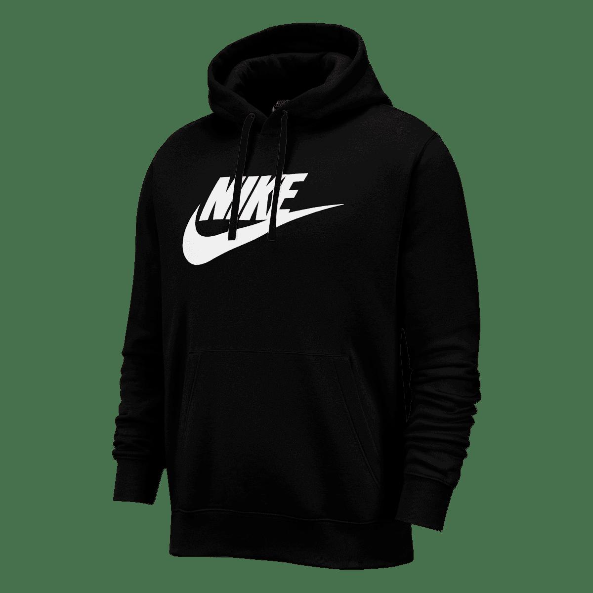Nike Kapuzenpullover Sportswear Graphic Club BB GX Hoody schwarzweiß